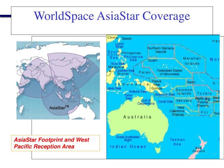WorldSpace AsiaStar Coverage