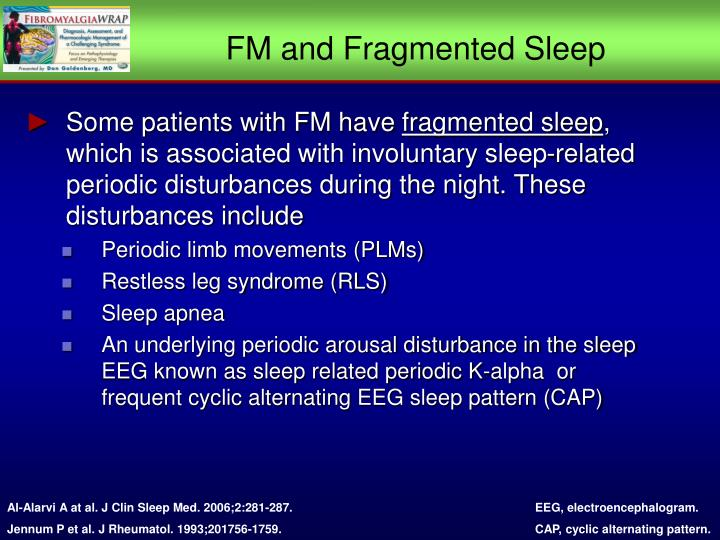 FM and Fragmented Sleep