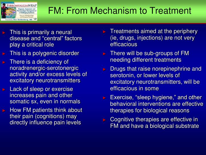 FM: From Mechanism to Treatment