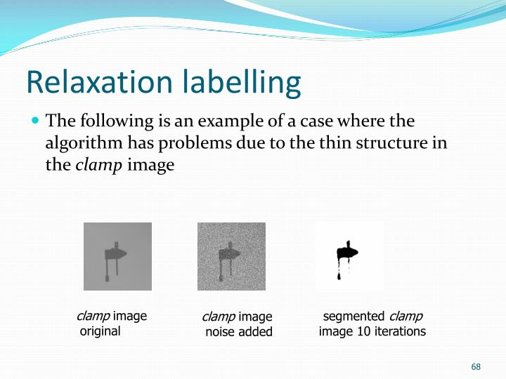 Relaxation labelling