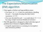 the expectation maximization em algorithm2