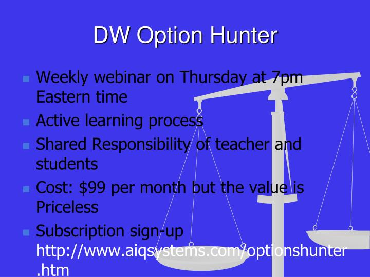 DW Option Hunter