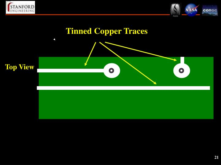 Tinned Copper Traces