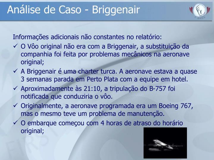 Análise de Caso - Briggenair