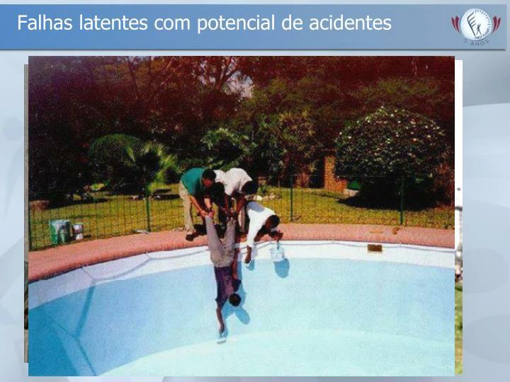 Falhas latentes com potencial de acidentes