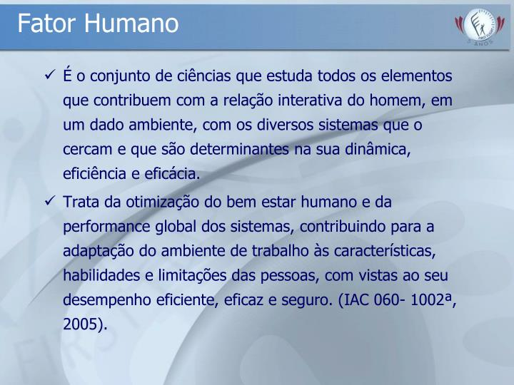 Fator Humano