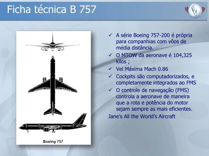 Ficha técnica B 757