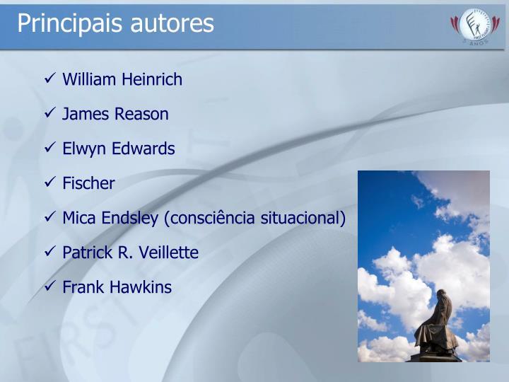 Principais autores