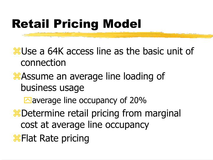 Retail Pricing Model