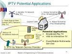 iptv potential applications