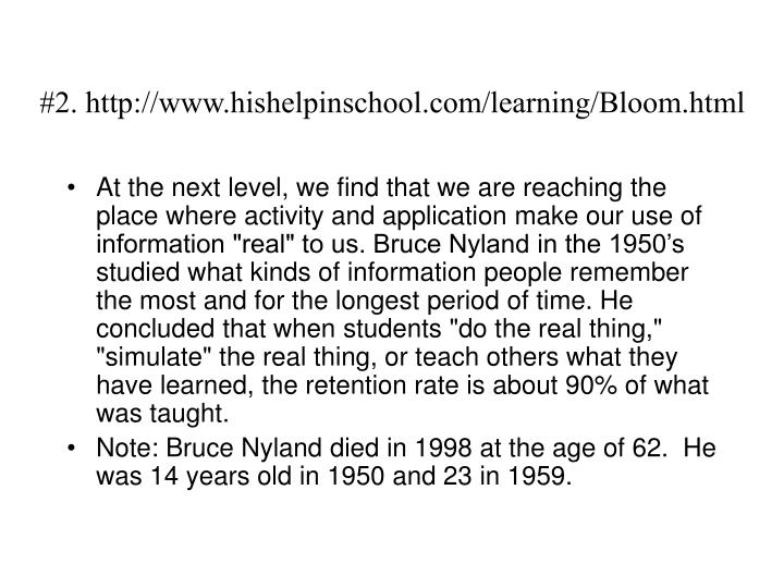 #2. http://www.hishelpinschool.com/learning/Bloom.html