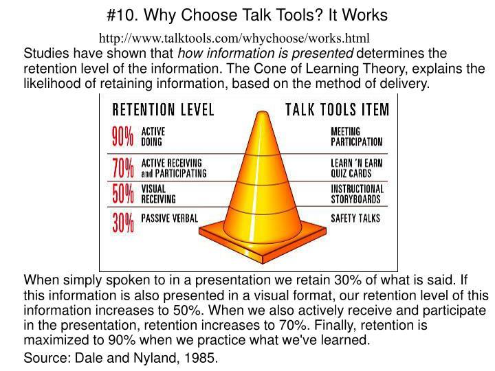 #10. Why Choose Talk Tools? It Works