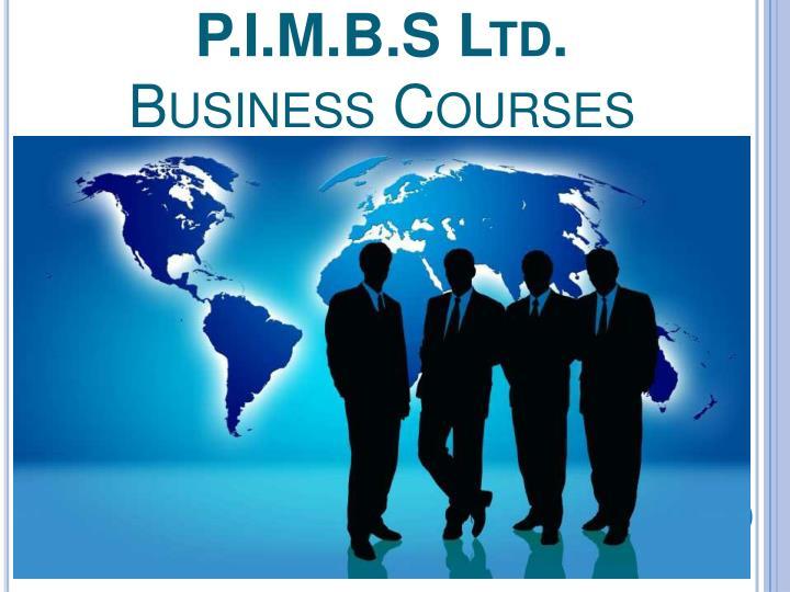 P.I.M.B.S Ltd.