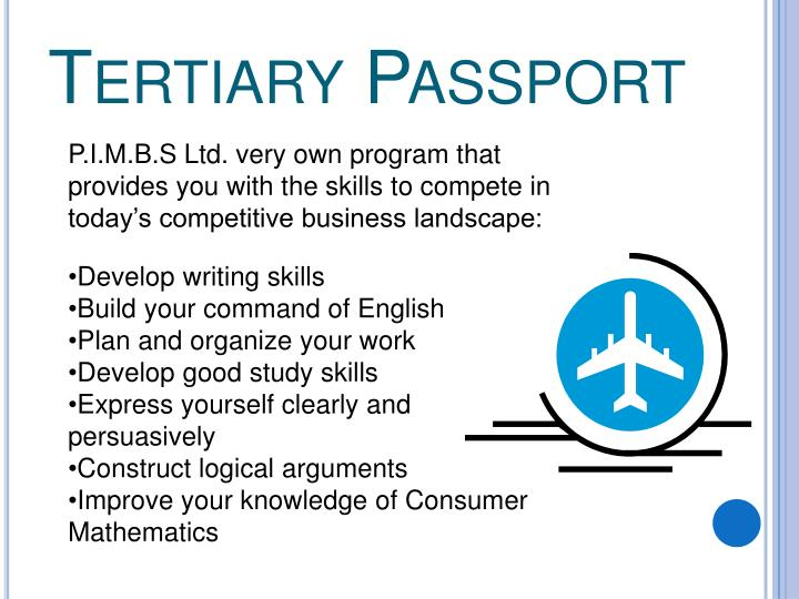 Tertiary Passport