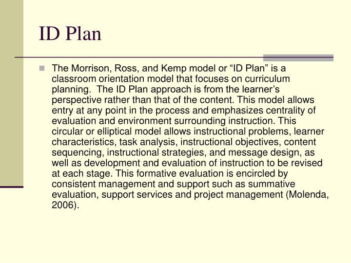 ID Plan
