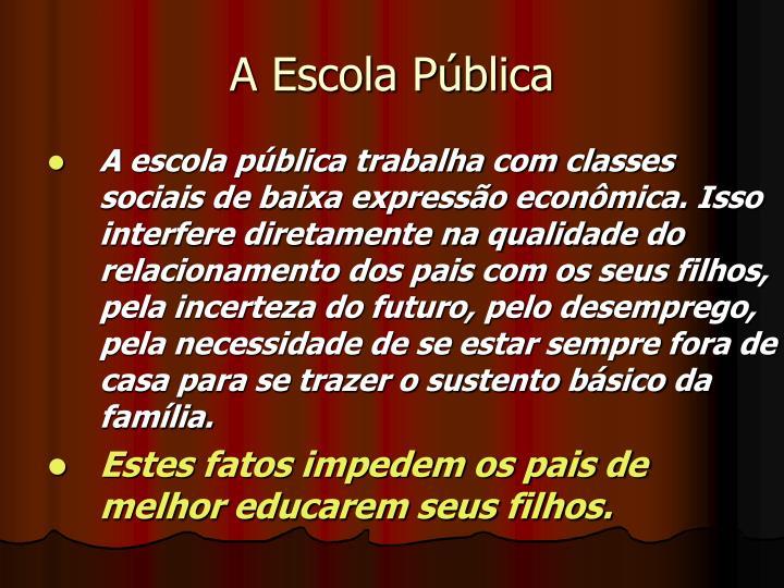 A Escola Pública