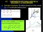 8 1 componentes rectangulares de la velocidad y la aceleraci n3