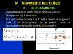 iv movimiento rectil neo1