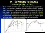 iv movimiento rectil neo5