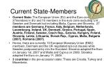 current state members