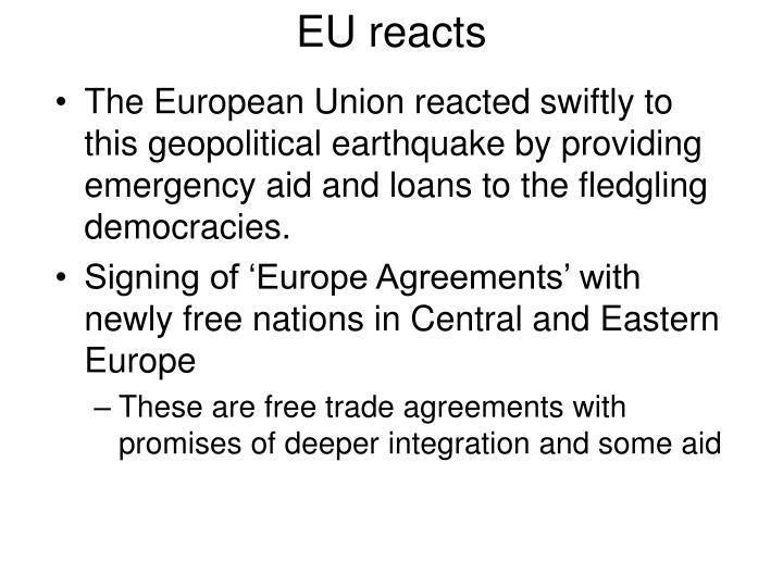 EU reacts