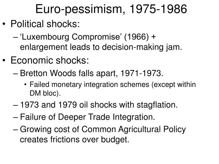 Euro-pessimism, 1975-1986