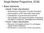 single market programme ec92