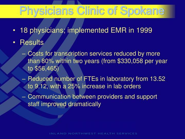 Physicians Clinic of Spokane