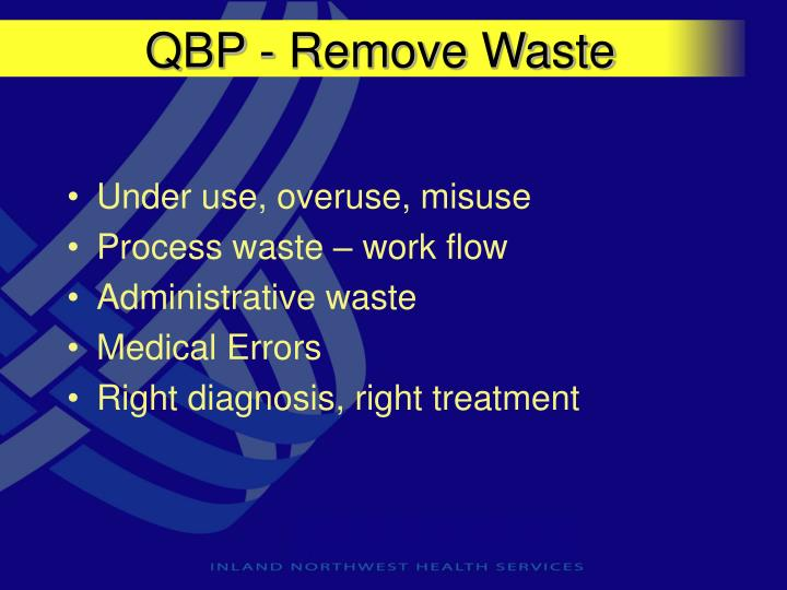 QBP - Remove Waste