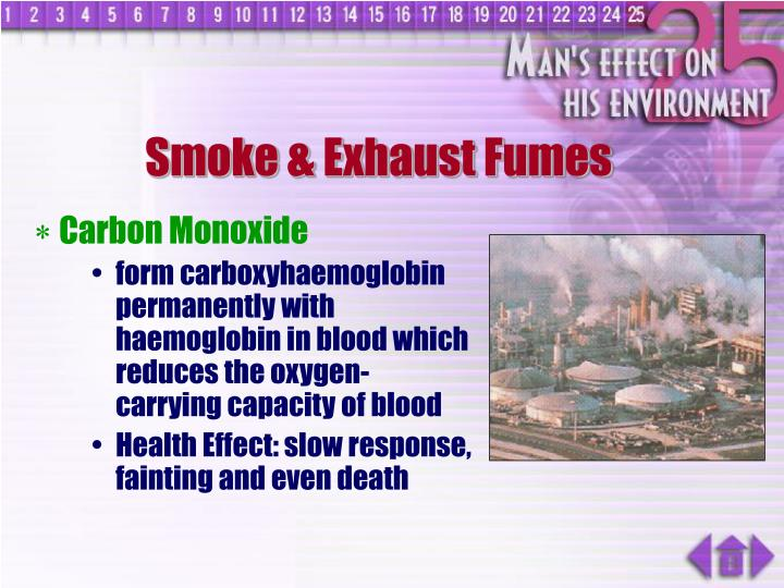 how smoking might lead to increased levels of carbon dioxide in the blood An increase of carbon dioxide in the blood causes a decrease in ph which results in a reduced affinity of hemoglobin for oxygen this effect facilitates oxygen transport as hemoglobin binds to oxygen in the lungs, but then releases it in the tissues, particularly those tissues in most need of oxygen.