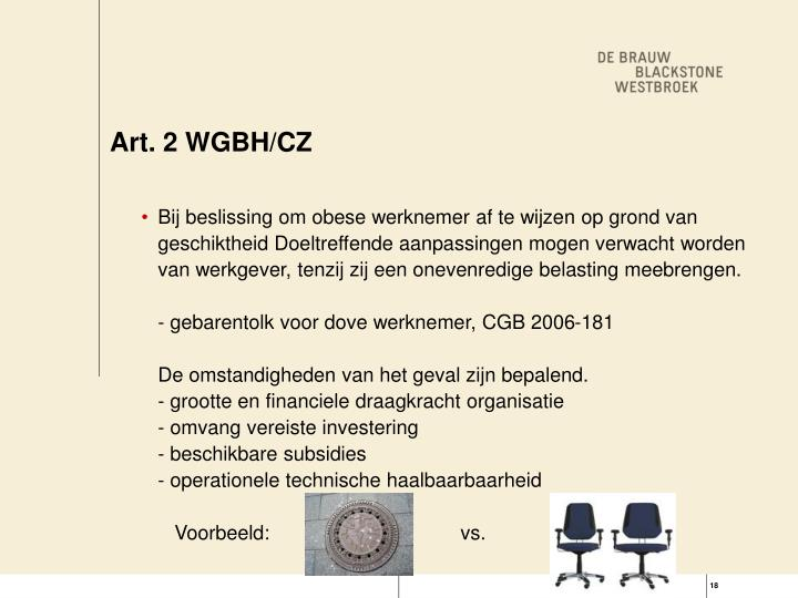 Art. 2 WGBH/CZ