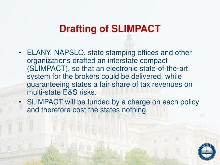 Drafting of SLIMPACT