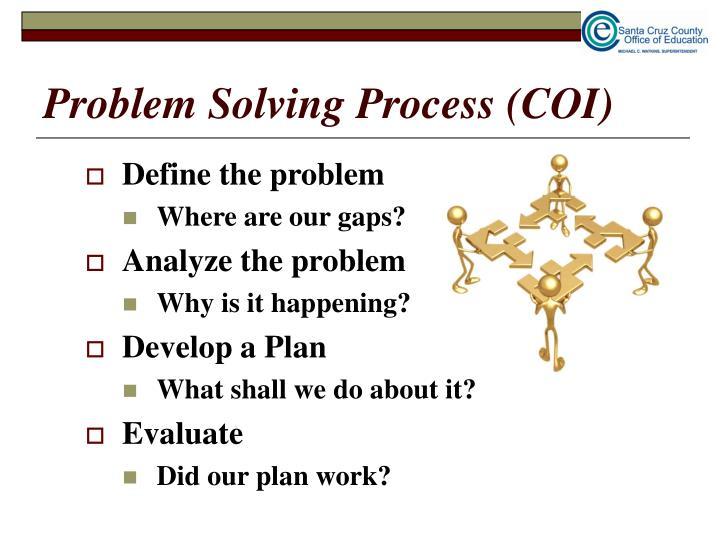Problem Solving Process (COI)
