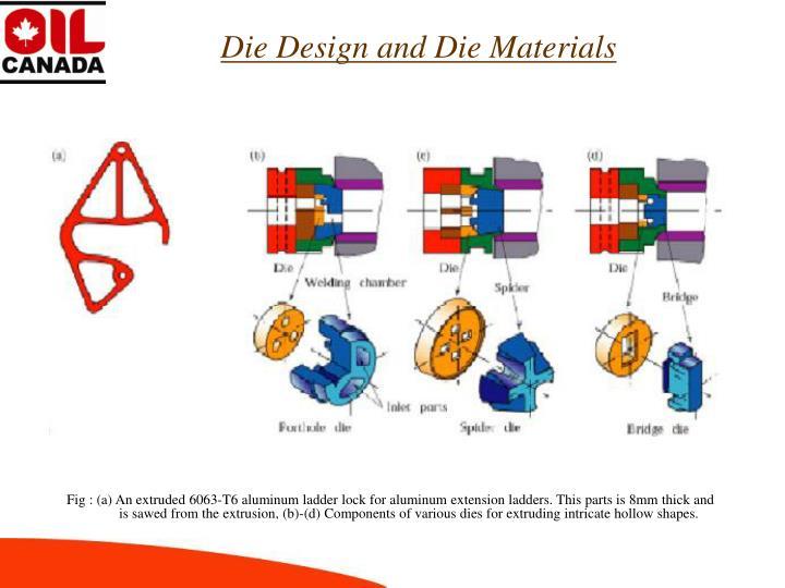 Die Design and Die Materials