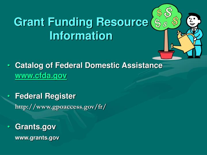 Grant Funding Resource Information