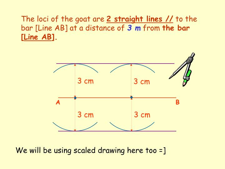 The loci of the goat are