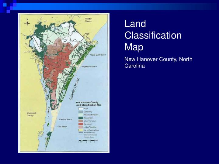 Land Classification Map