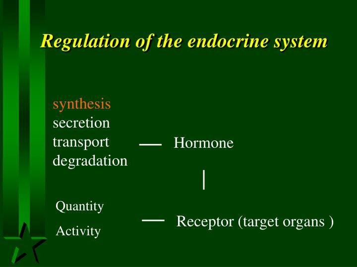 Regulation of th