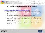 4 facilitating reflection in fl class1