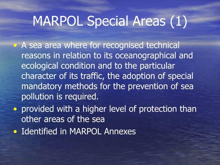MARPOL Special Areas (1)