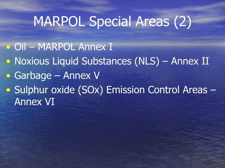 MARPOL Special Areas (2)