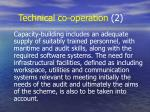 technical co operation 2