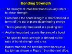 bonding strength