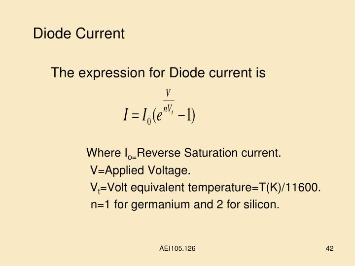 Diode Current
