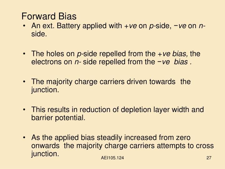 Forward Bias