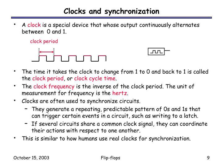 clock period