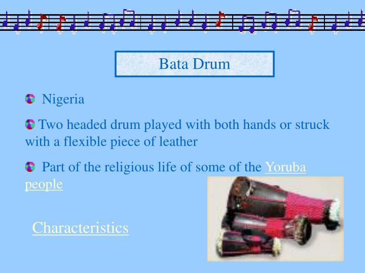 Bata Drum