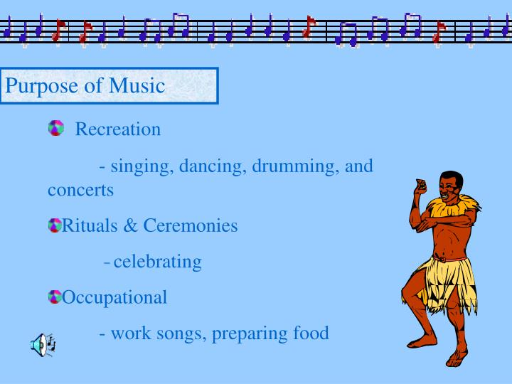Purpose of Music