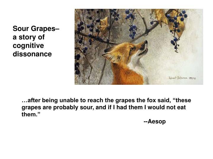 Sour Grapes–