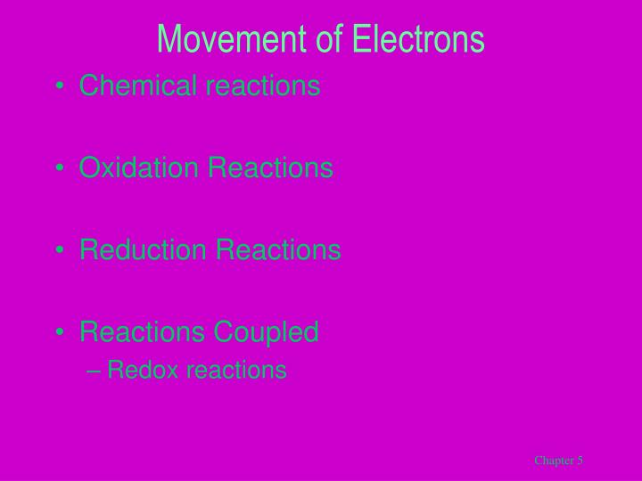 Movement of Electrons